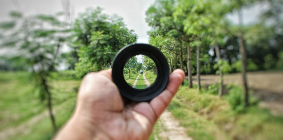 Seeing the world through a lens